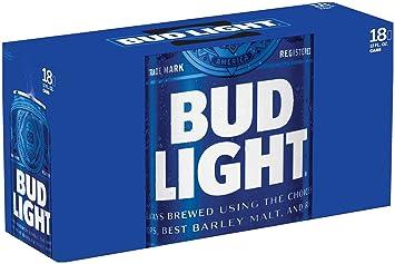 Bud Light, 18 Pk, 12 Oz Cans, 4.2% ABV