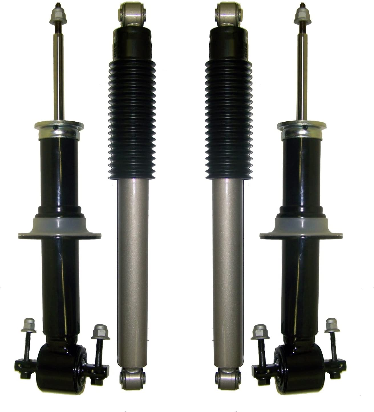 Suncore 151G-30-4-ASSY Passive Suspension Conversion Kit Incl Front Struts And Rear Coil Over Gas Shocks Passive Suspension Conversion Kit