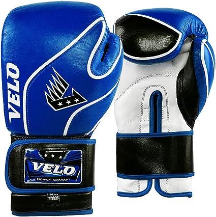 Mens Leather Boxing Glove Training Punching Muay Thai Kick Boxing Punch Bag 1058