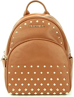 8b25e71e9 Michael Kors Abbey Medium Studded Leather Backpack For Work School Office  Travel