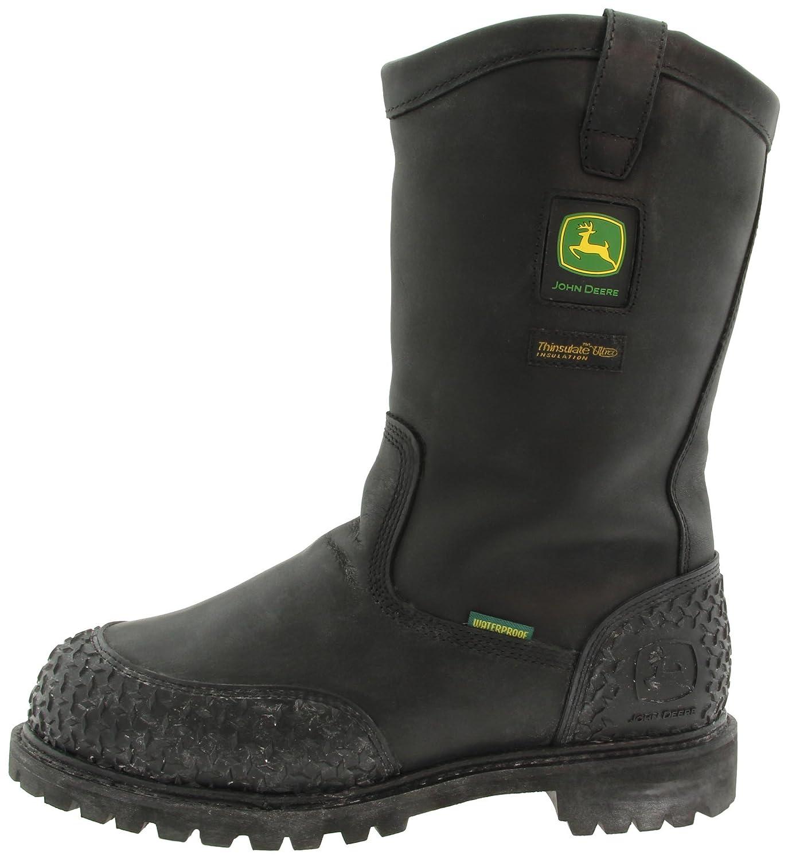 be02f17a70f Amazon.com | John Deere Men's Miner Boot, Black, 12 M US ...