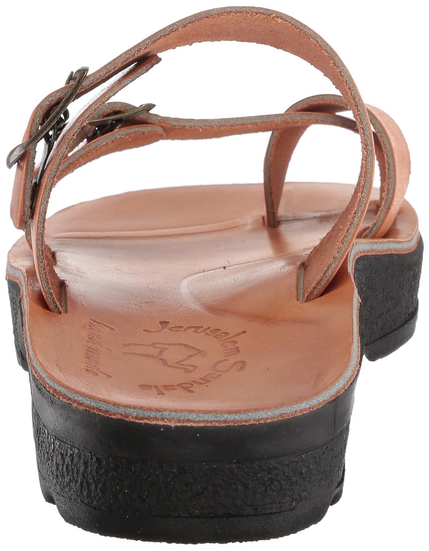 Jerusalem Sandals Women's Ruth Molded Footbed Slide Sandal B075KX6CT1 40 Medium EU (9-9.5 US) Tan