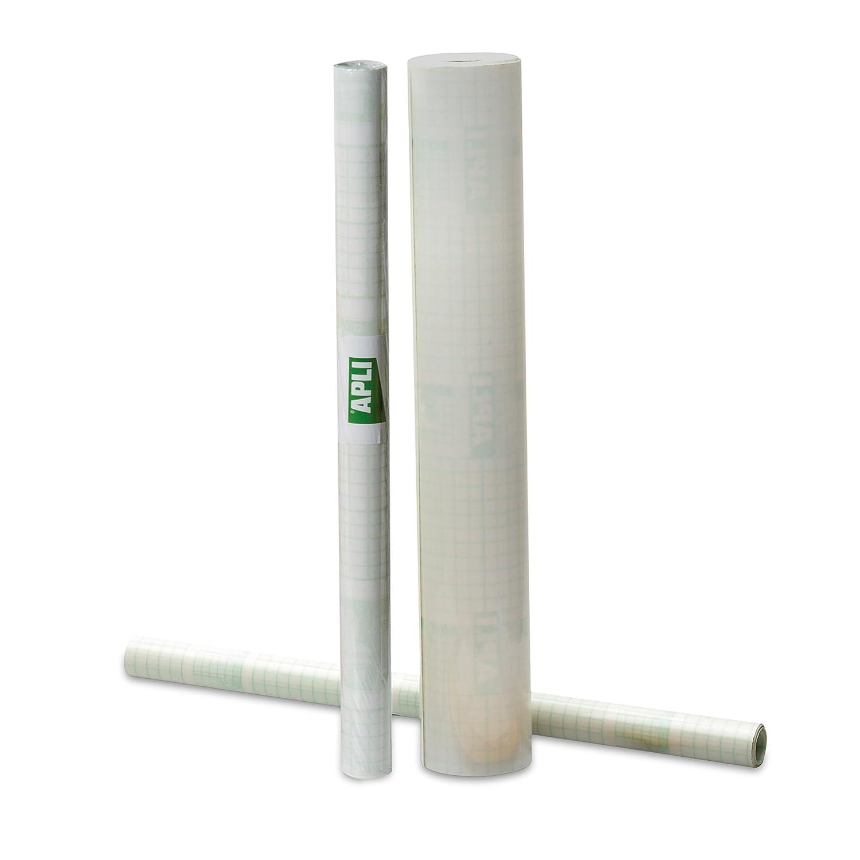 Agipa - Pellicola protettiva lucida per libri, riposizionabile, 80 micron, 0,50 x 20 m, 1 rotolo 000264