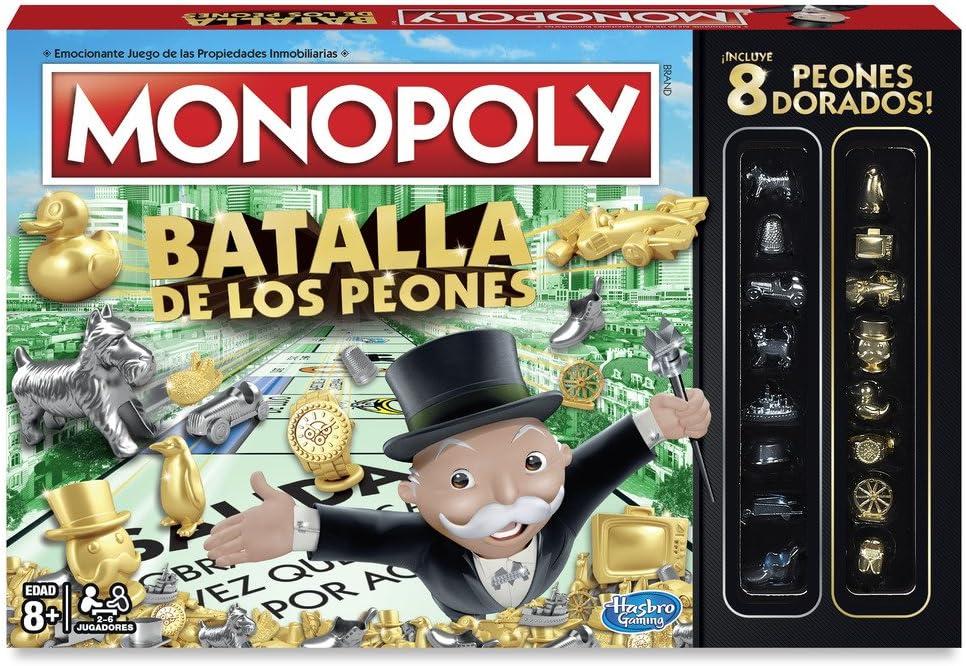 Monopoly - Batalla de los peones (Hasbro C0087105): Amazon.es ...