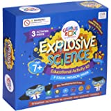 Genius Box Explosive Science 3 Activity Kit for 7+ Year Age: DIY, Educational Toy, Educational Kit, STEM Toy, Science Experiment, Learning Kit