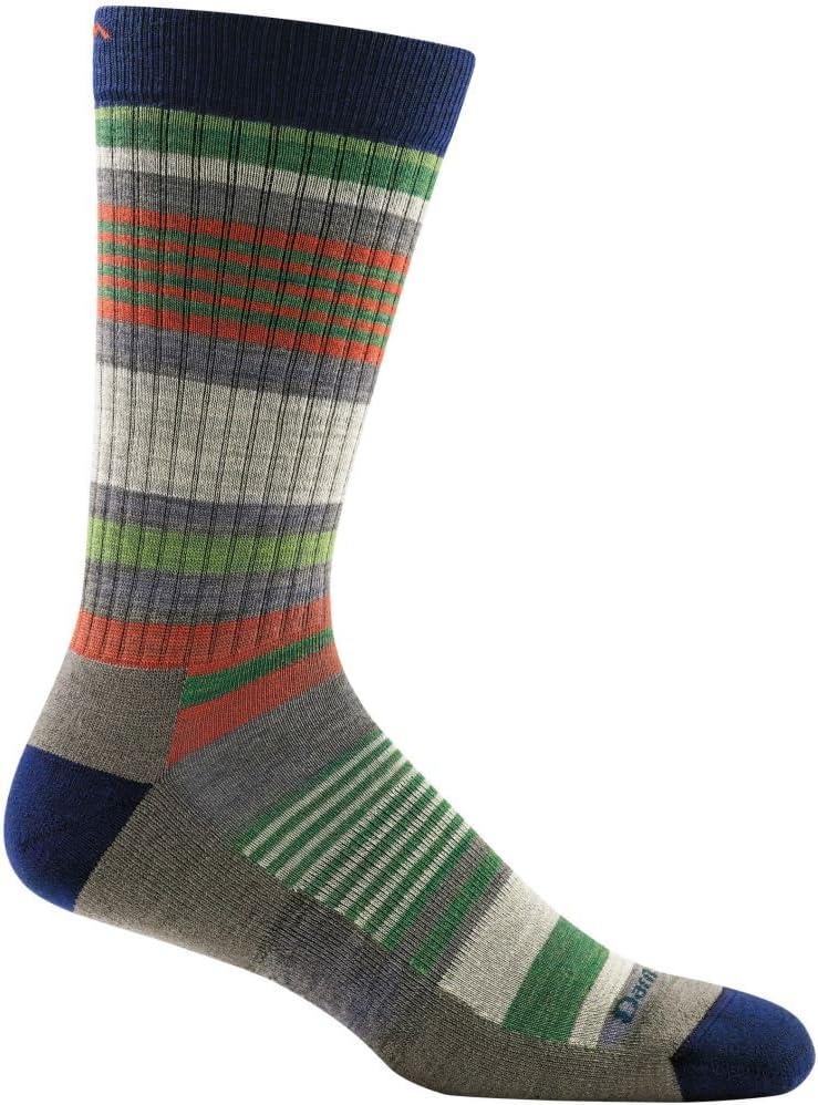 Darn Tough Unstandard Stripe Crew Light Cushion Sock - Men's