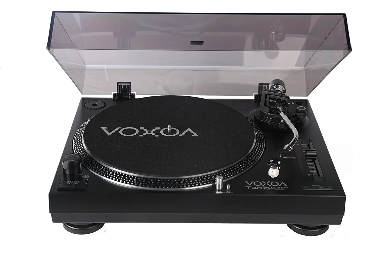 VOXOA T-40 Tensor Correa Para Tocadiscos, Color Negro: Amazon.es ...
