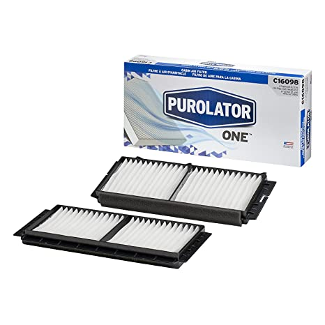 amazon com purolator c16098 purolatorone cabin air filter automotive