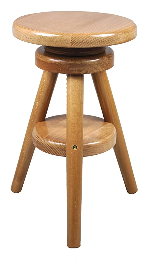 Fabulous Magnetic Mobel Revolving Wooden Kitchen Breakfast Stool Solid Bar Stool 52 70 Cm Alder Uwap Interior Chair Design Uwaporg