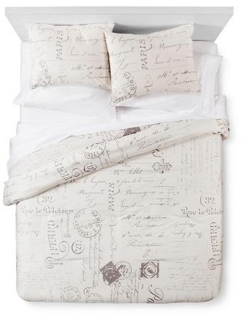 homthreads™ Paris Comforter and Sham Set - Cream (Queen) : Target