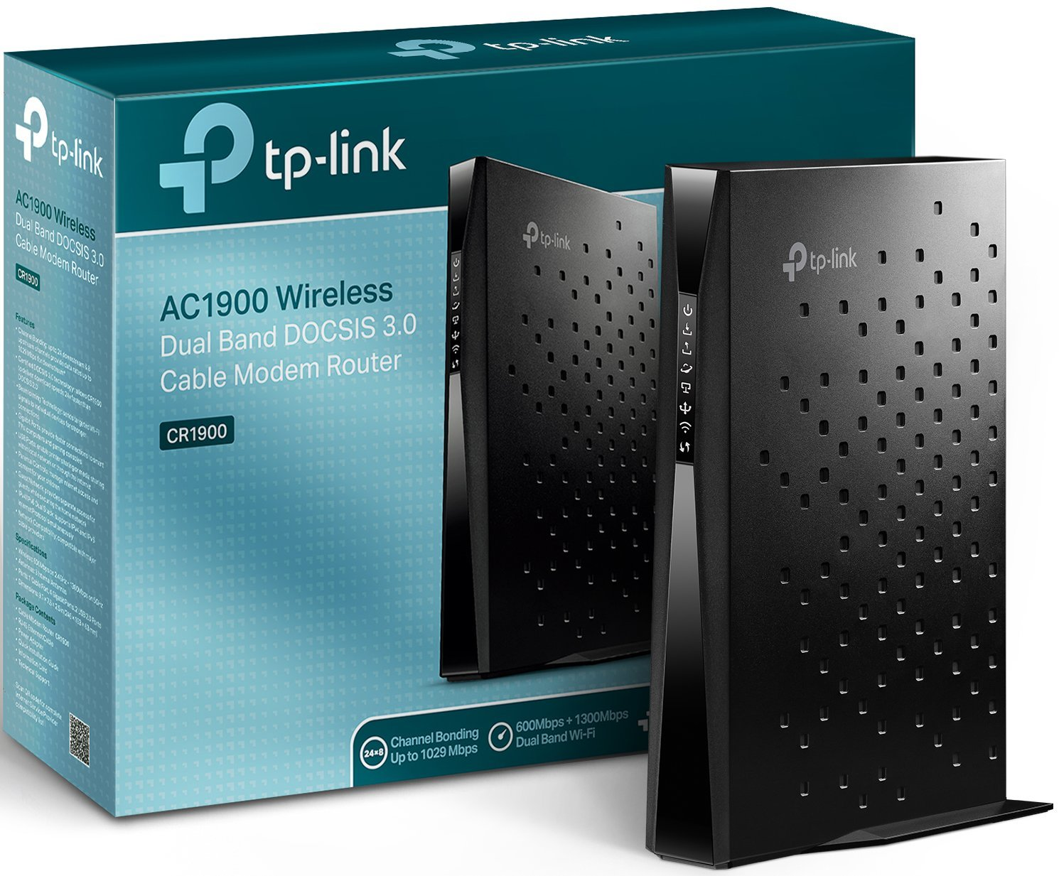 Amazon.com: TP-Link Archer CR1900 24x8 DOCSIS3.0 AC1900 Wireless Wi ...