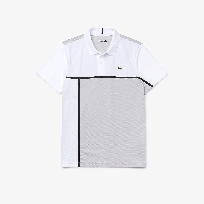 Lacoste Yh4770 Polo, Blanco (Blanc/Calluna/Blanc/Noir Rey), Medium ...