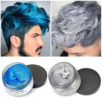 2 X 120g Farbiges Haarwachshaarfarbe Wachs Haarcreme Styling