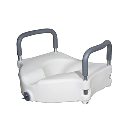Drive Raised Toilet Seat With Arms.Amazon Com Drive Medical Elevated Raised Toilet Seat With Removable