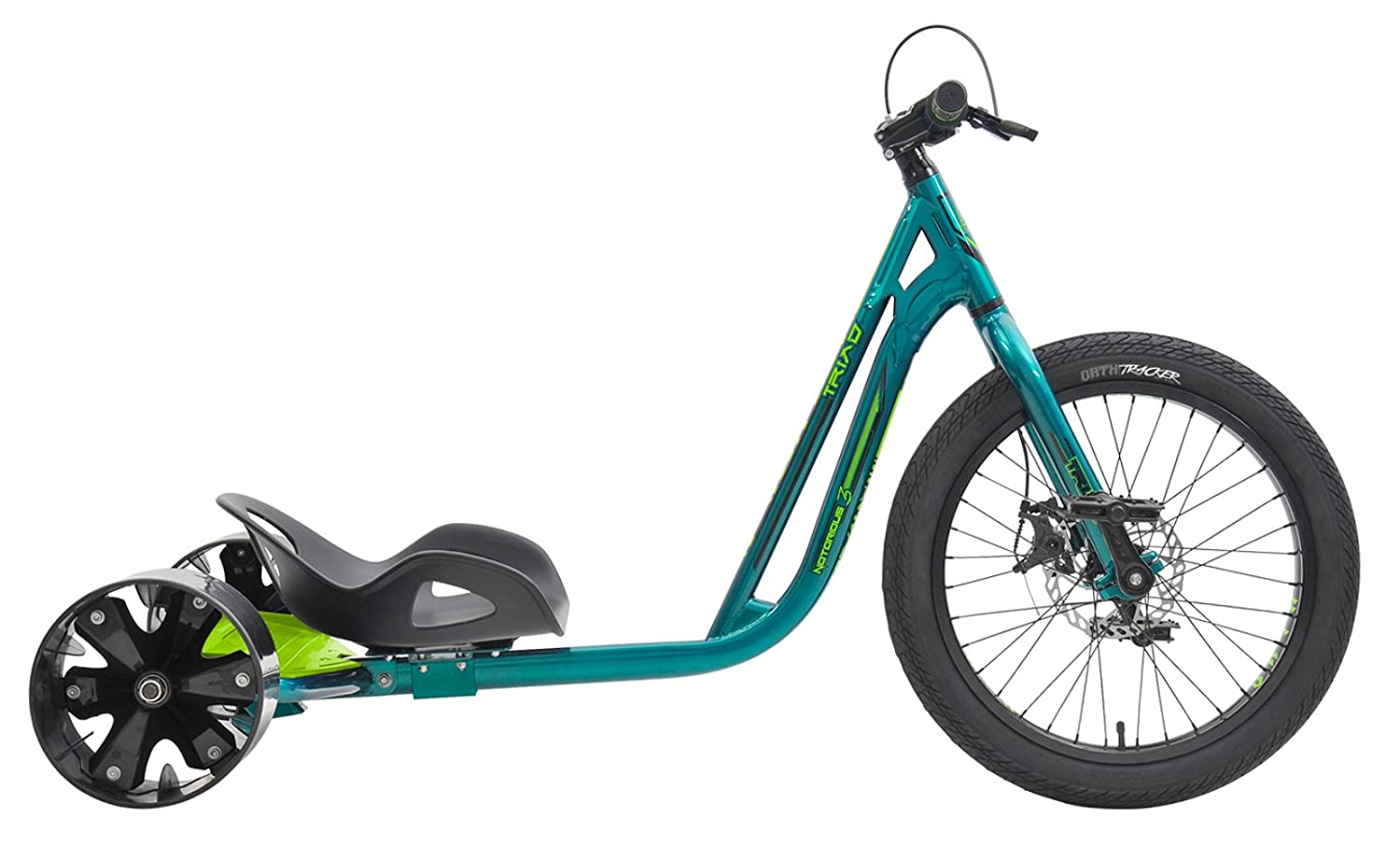 Triad Drift Trikes Notorious 3 Velo Enfant Mixte Adulte, Vert/Vert: Amazon.es: Deportes y aire libre