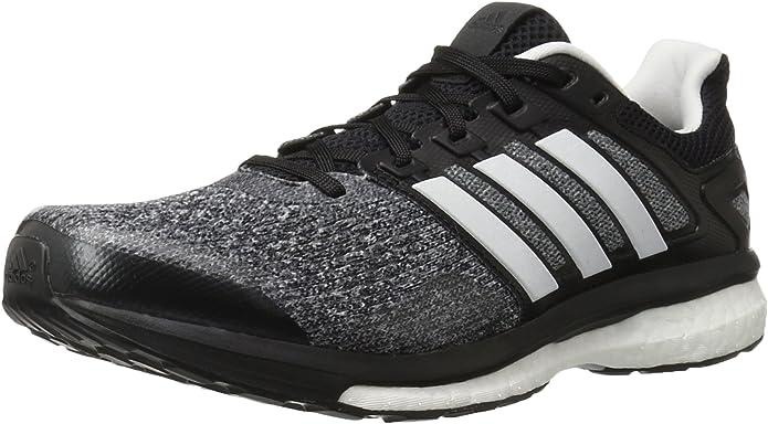 estilo corriente amplitud  Adidas Performance Men's Supernova Glide 8 M Running Shoe, Core  Black/White/Night Metallic, 10 M US: Amazon.ca: Shoes & Handbags
