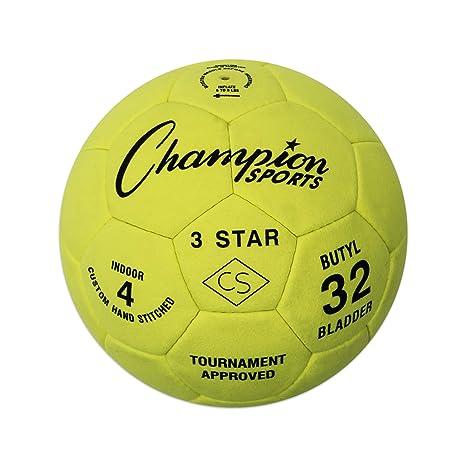 Amazoncom Champion Sports 3 Star Soccer Ball Sports Outdoors
