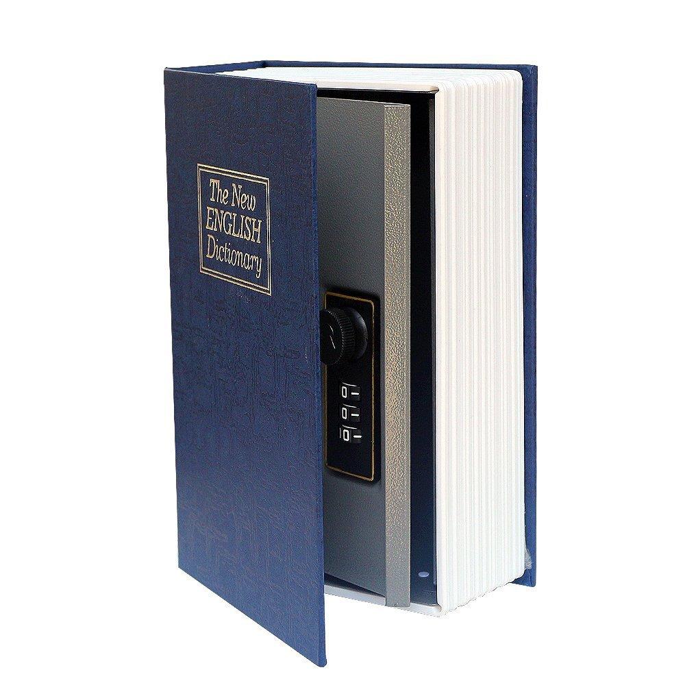 日本未入荷 Jeasun Book Safe新しい英語辞書withキーロック B0785G5D1S、非表示メタル辞書Diversion本安全 Jeasun、小さいサイズ(ブルー) B0785G5D1S, 美麻村:daacb8fb --- a0267596.xsph.ru