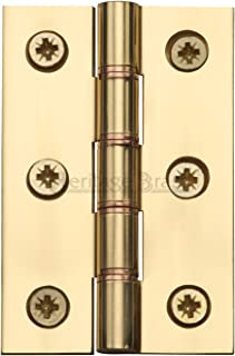 7,6x 5,1cm doppia cerniera fosforoso Cromo satinato