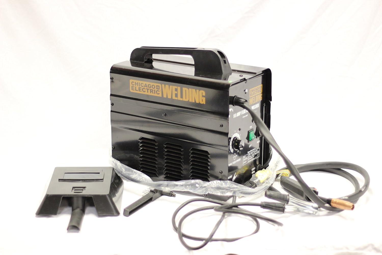 Chicago Electric Welding Systems 90 Amp Flux Wire Welder - Power ...