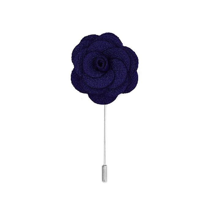 Amazon.com: ferrecci Flor Pin Solapa Boutonniere para traje ...