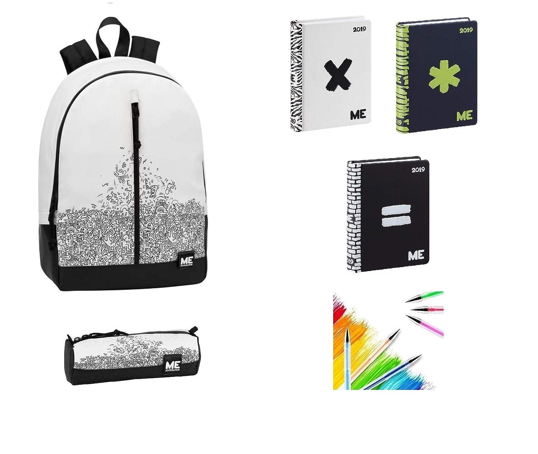 Evolution, Schultaschen-Set Mehrfarbig Mehrfarbig