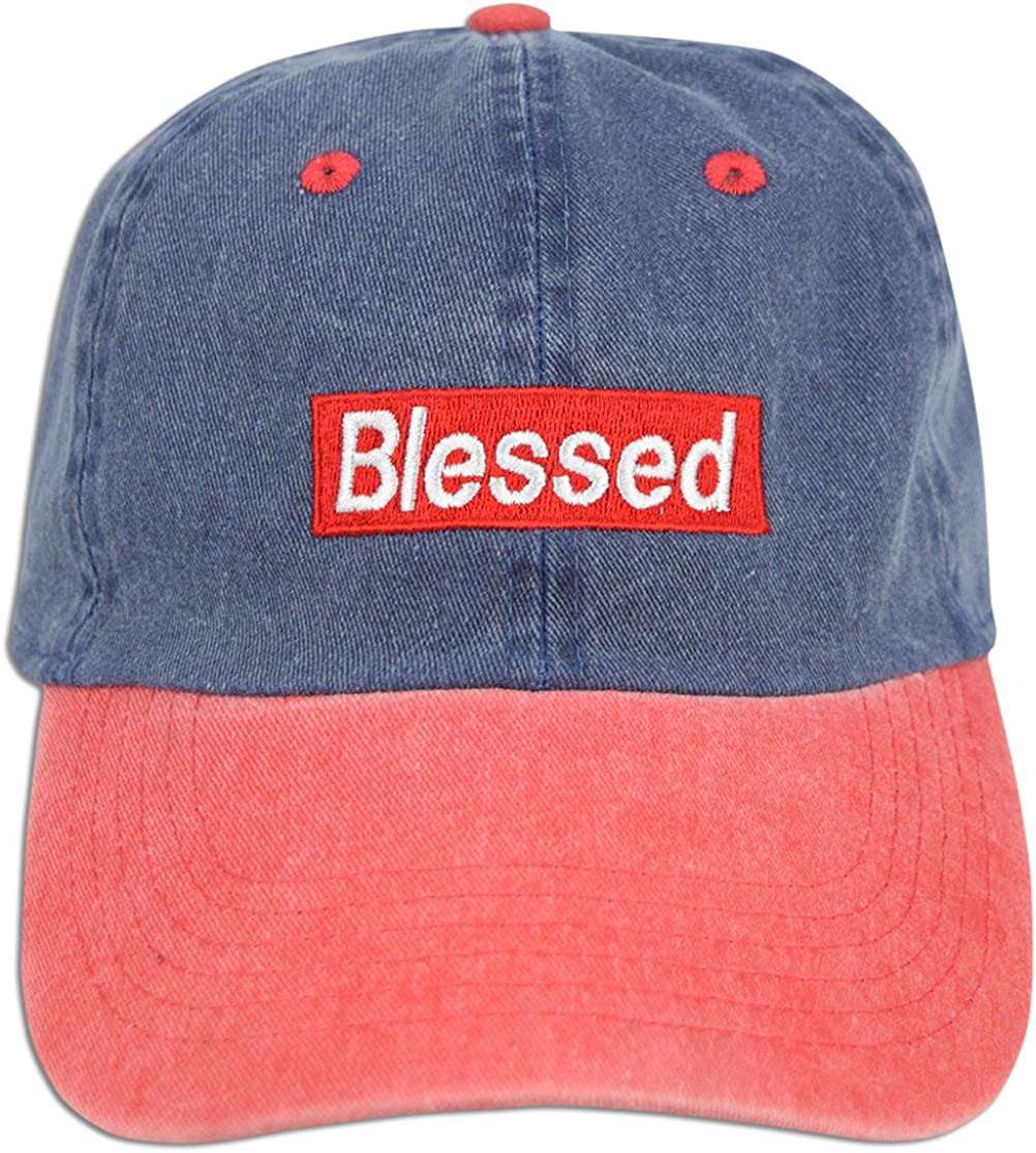 JLGUSA Blessed Embroidered...