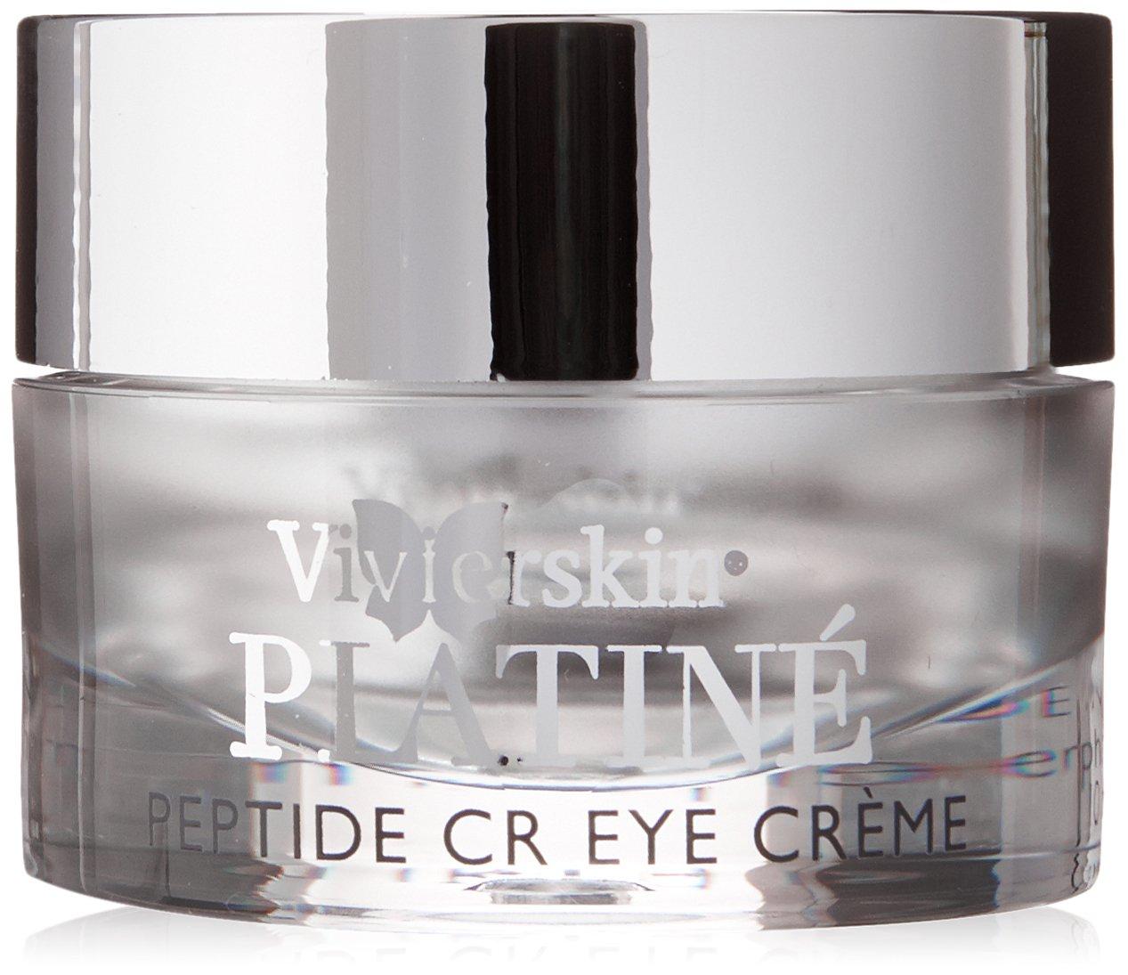 VivierSkin Platin Peptide CR Eye Creme, 0.3 Fluid Ounce