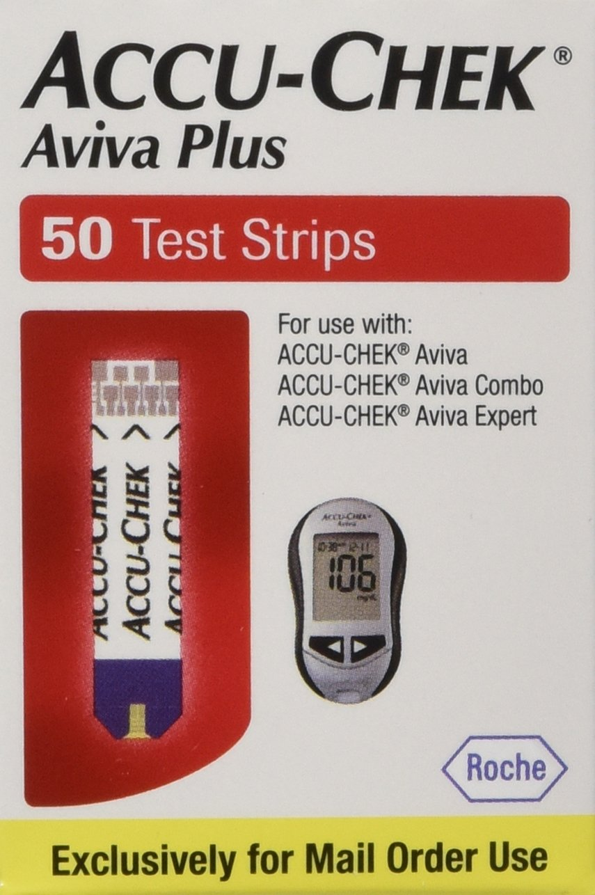 Accu-Chek Aviva Plus Mail Order 100 count by Roche (Image #1)