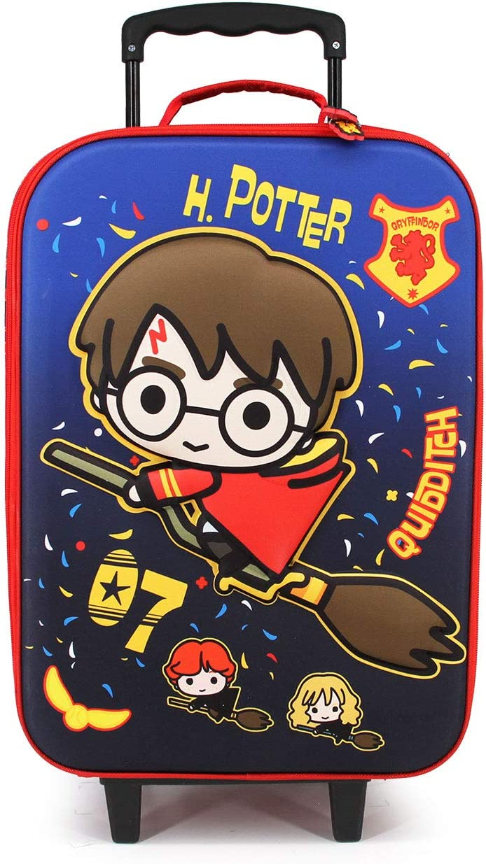 Harry Potter Quidditch-Valise /à roulettes Soft 3D