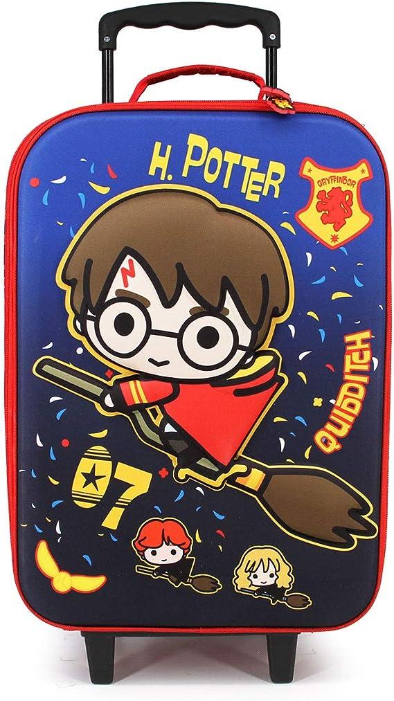 Multicolour Karactermania Harry Potter Quidditch-Valigia Trolley Soft 3D Taglia Unica