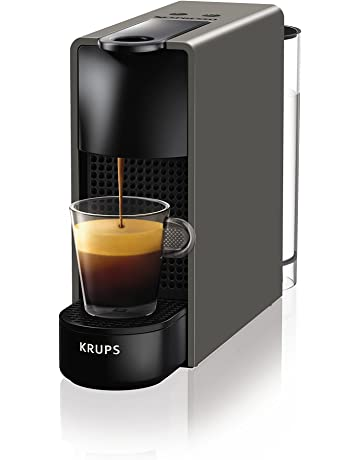 Nespresso Essenza Mini Coffee Machine, Black by Krups [Energy Class A]