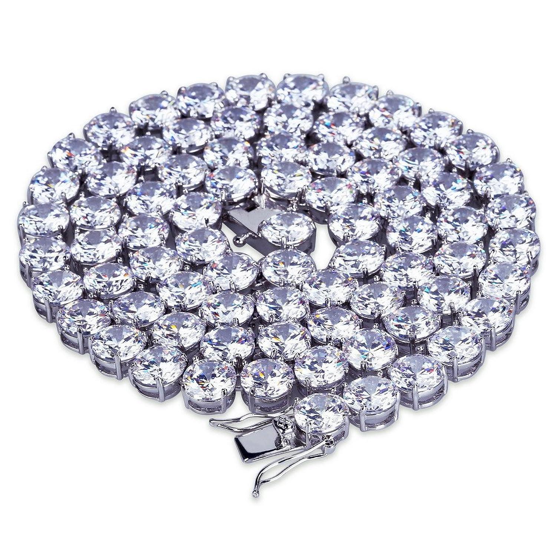 441552dc0fdb Outlet MCSAYS Hip Hop Jewelry - Collar de cadena de tenis chapado en oro de  18 · Outlet Viceroy 6204P09011 Pulsera para hombre