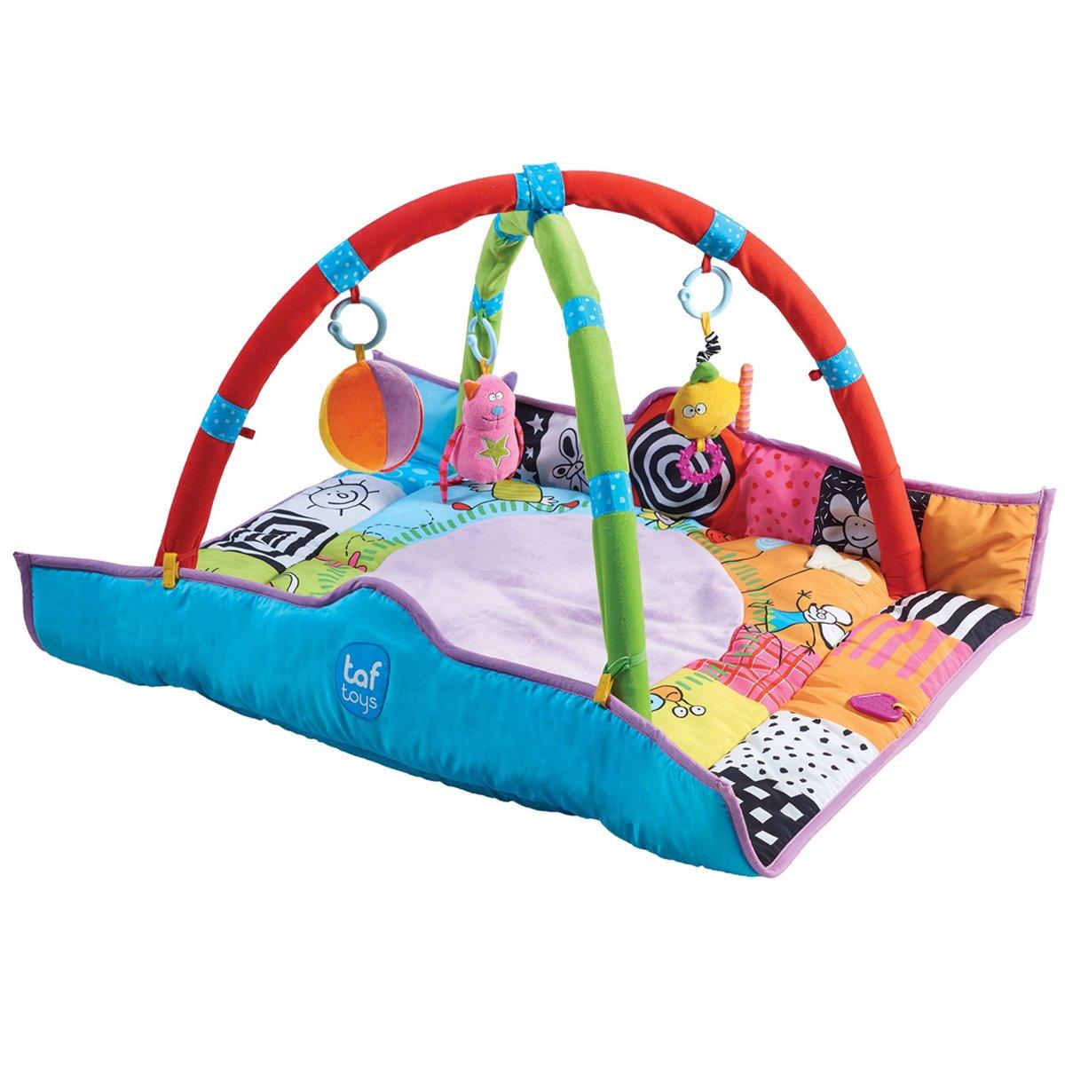 Taf Toys 11955 Spielmatte für Neugeborene, Mehrfarbig Bisal GmbH - Baby TAF11955