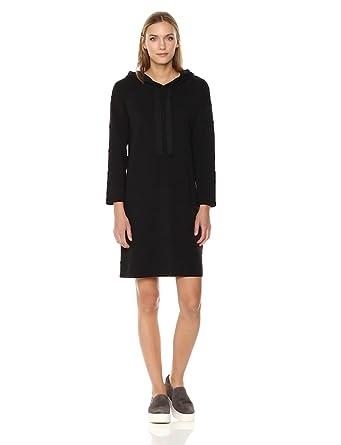 d9c6bff7bf60 Amazon Brand - Daily Ritual Women's Terry Cotton and Modal Sweatshirt Dress,  Black, X