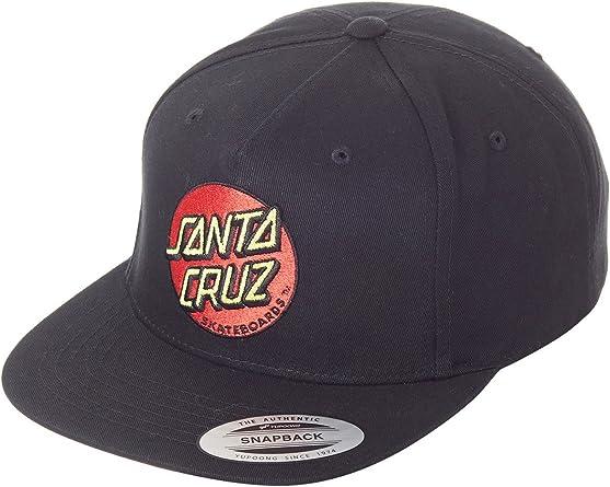 Gorra Santa Cruz – Classic Dot negro talla: OSFA (Talla única para ...