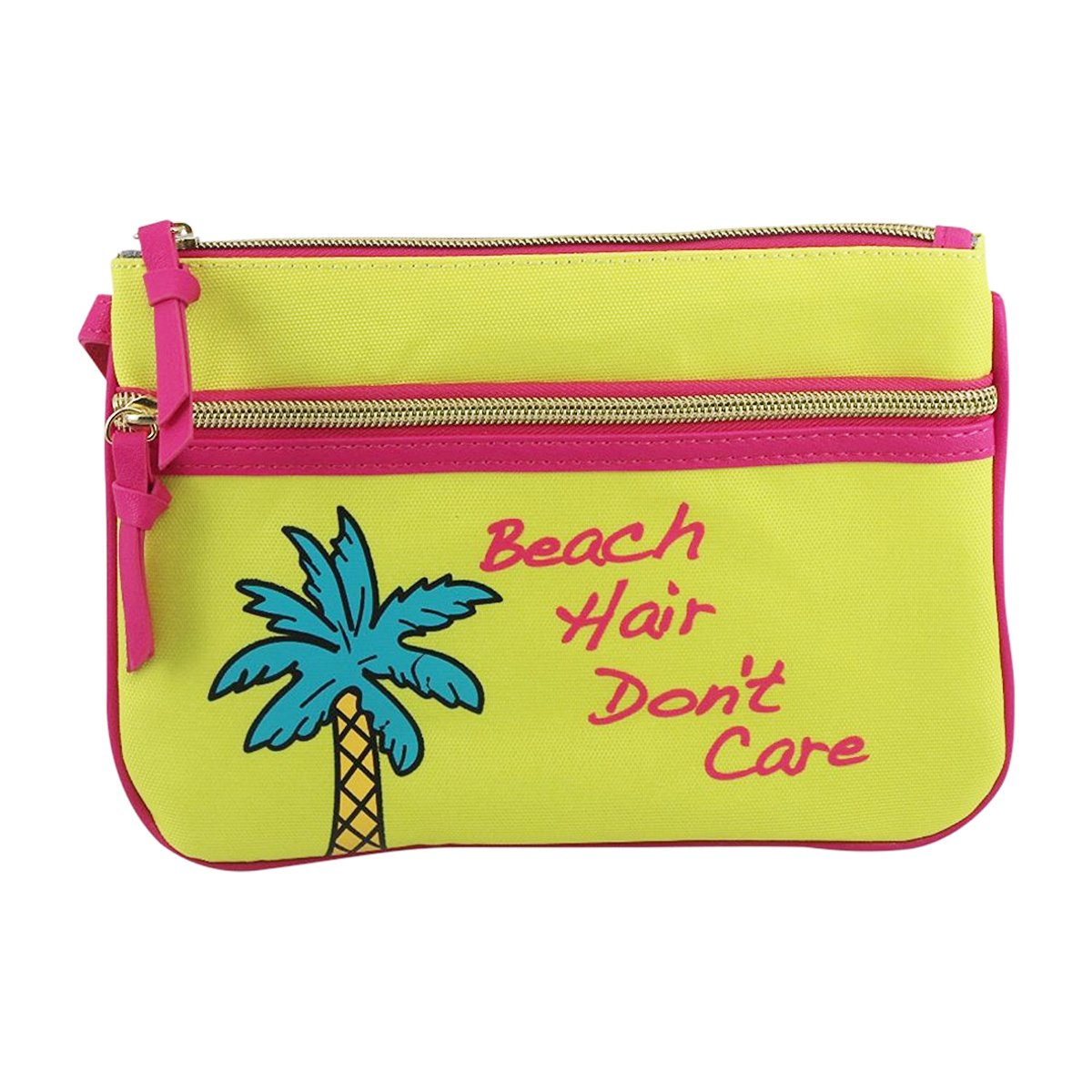 Betsey Johnson Beach Wristlet - Beach Hair Don't Care