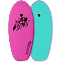 Wave Bandit Shred Sled Mini Surfboard, Neon Pink, 37""