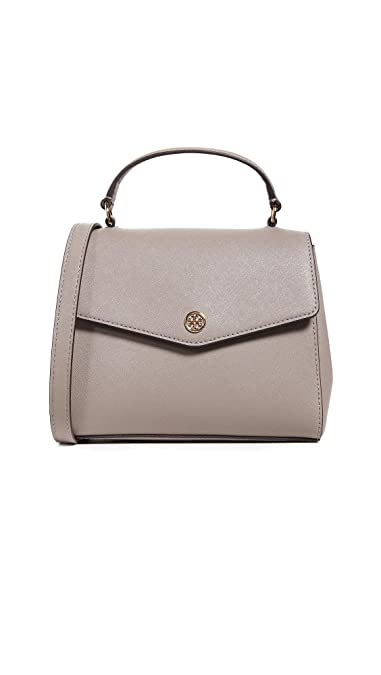 72d789bca7e7 Tory Burch Women s Robinson Small Top Handle Satchel