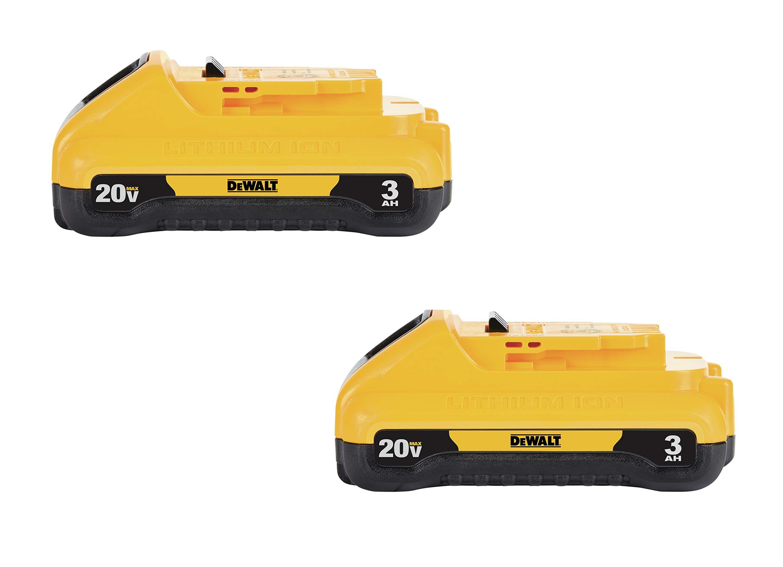 2 Baterias Originales DEWALT 20V MAX 3.0ah DCB230