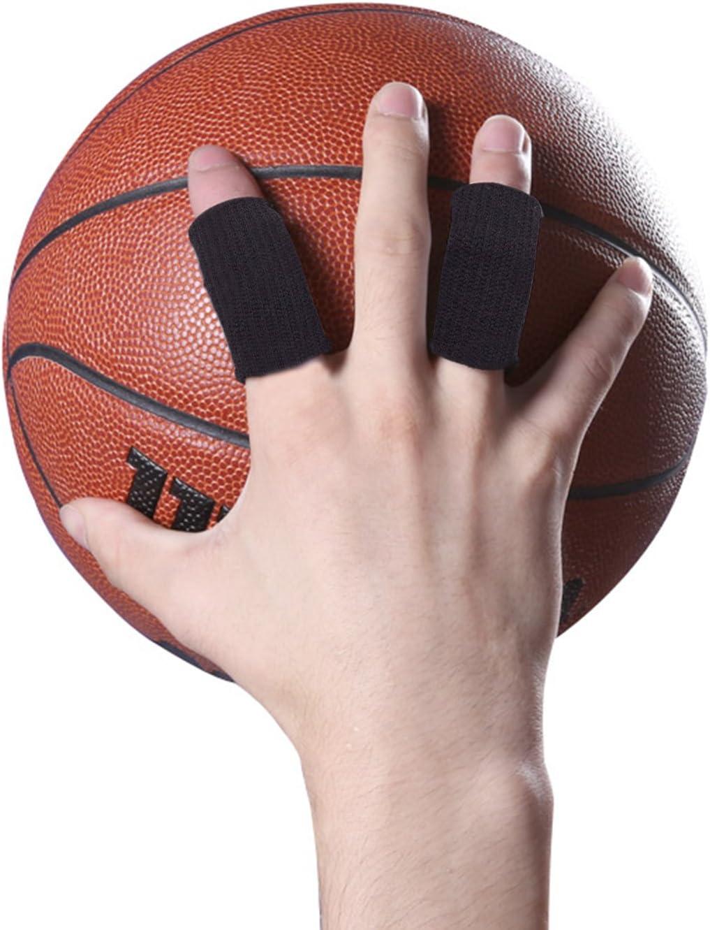 Protection//Soutien de Doigt pour Joueurs de Basketball de Volleyball 10PCS Diealles Prot/ège-Doigts