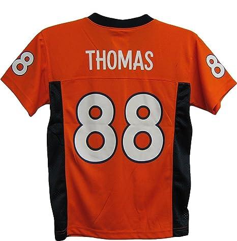 Demaryius Thomas Denver Broncos Orange NFL Youth 2016-17 Season Mid Tier  Jersey (X 62c134b4a