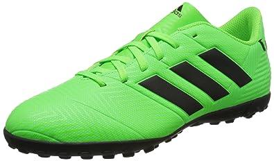 f74120ede6 Chuteira Society Adidas Nemeziz Messi 18 4 TF - Verde - 39  Amazon ...