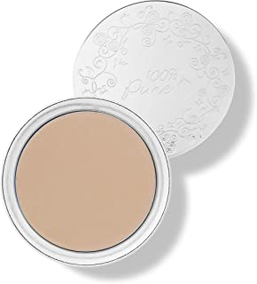 product image for 100% PURE Fruit Pigmented Cream Foundation, Sand, Full Coverage Foundation, Anti-Aging, Matte Finish, Vegan Makeup (Light, Medium with Neutral Undertone) - 0.32 oz