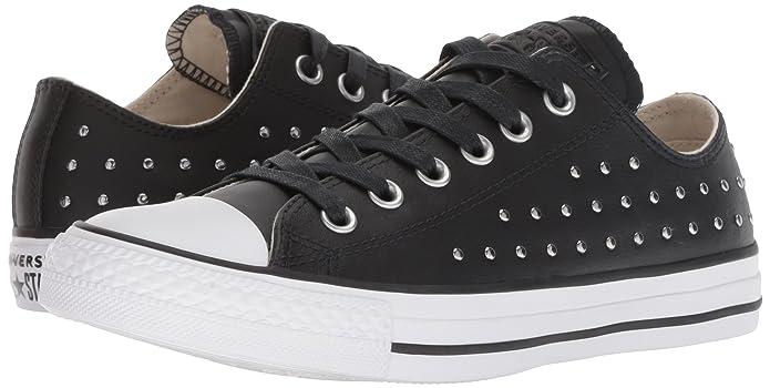 Converse Women's CTAS Ox BlackSilver Sneaker