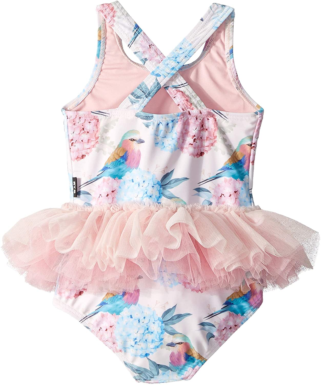 44368c2ab5dcc Amazon.com: Rock Your Baby Baby Girl's Birdie Tulle One-Piece (Infant):  Clothing