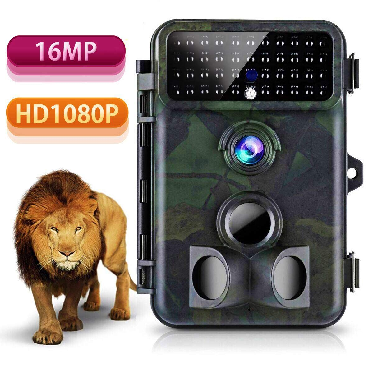 Tvird 16 MP Wildlife Trail Camera