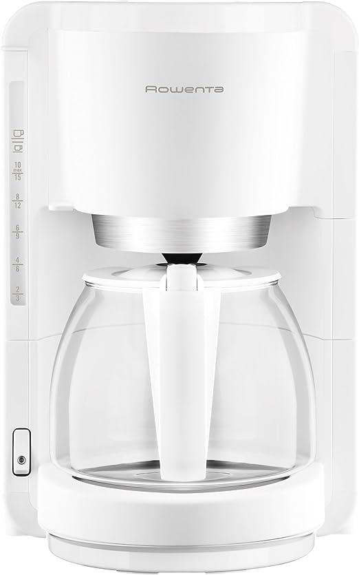 Rowenta CG380111 - Cafetera de goteo, 1100 W, 1.25 L, color blanco ...