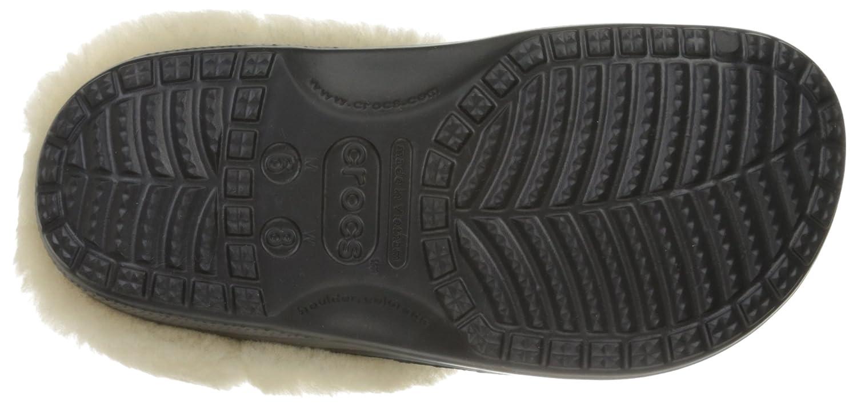 CROCS Schuhe schwarz, - CLASSIC MAMMOTH LUXE CLOG - schwarz, Schuhe Größe:42-43 - d95234