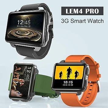 LEMFO LEM4 Pro 2.2 inch Ecran Tactile Montres Connectées Android Bluetooth WiFi 1GB / 16GB 1.3